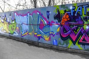 graffiti na zdi