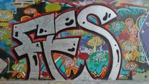 velké a malé graffiti